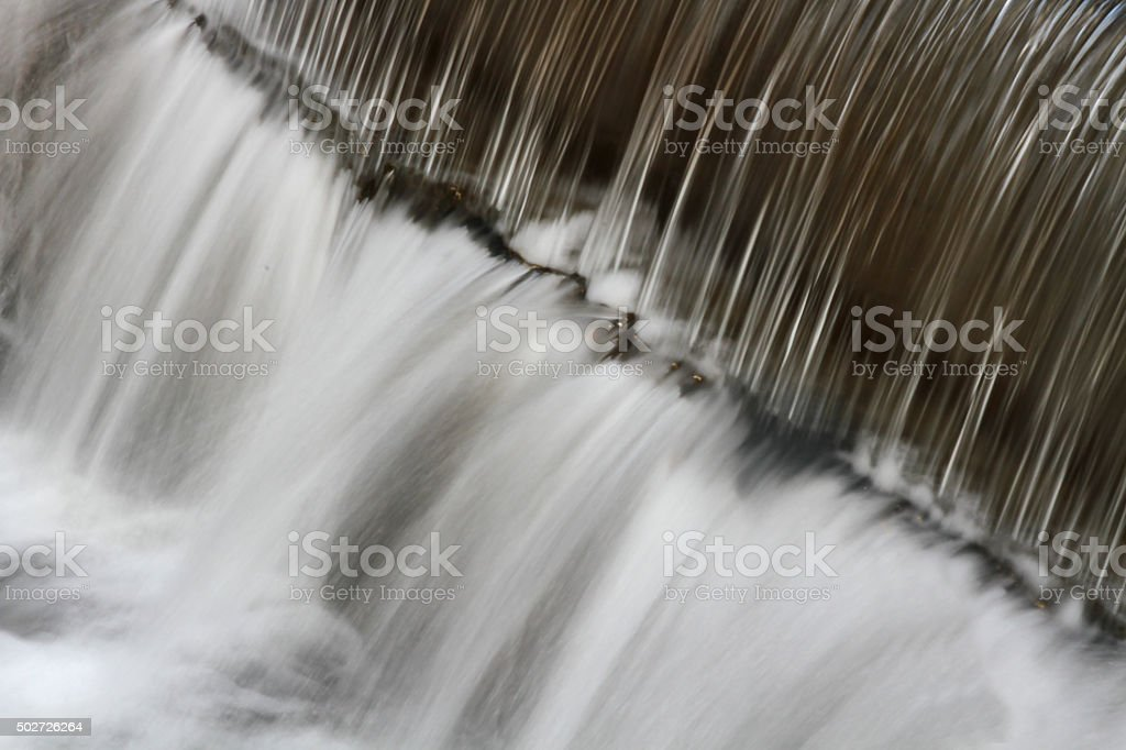 whitewater stretch close up stock photo