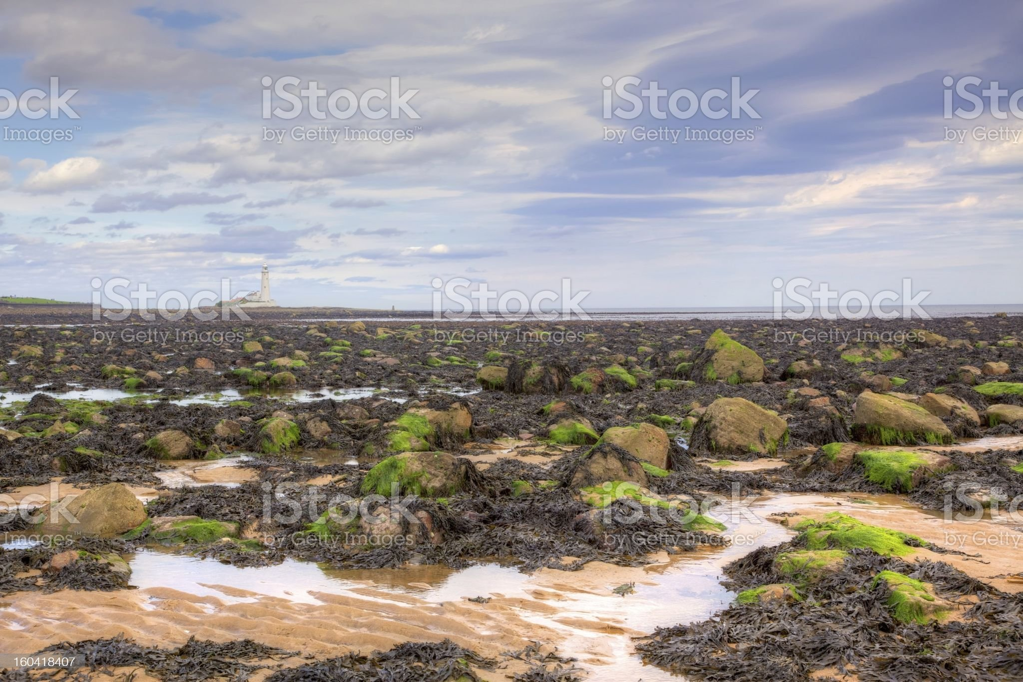 Whitley Bay royalty-free stock photo