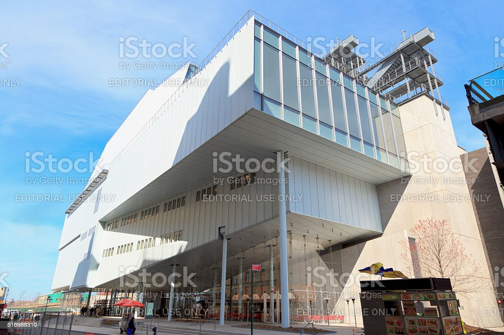 Whitney Museum stock photo