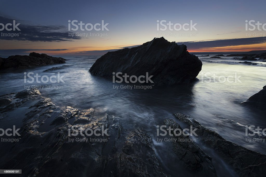 Whitsand Bay royalty-free stock photo