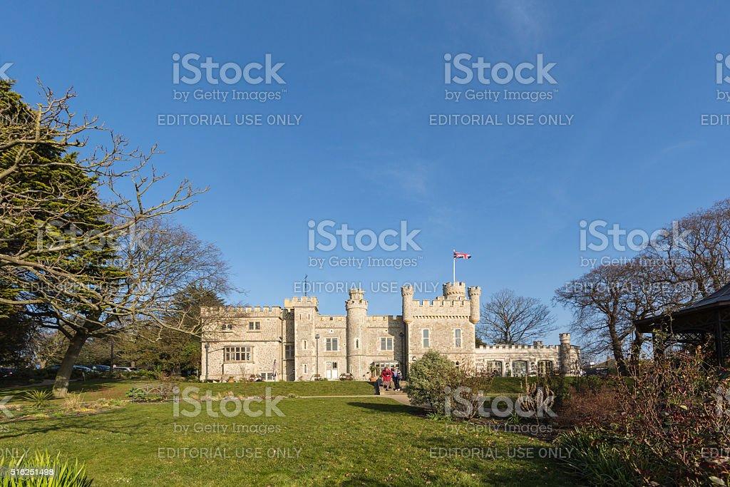 Whitstable Castle stock photo