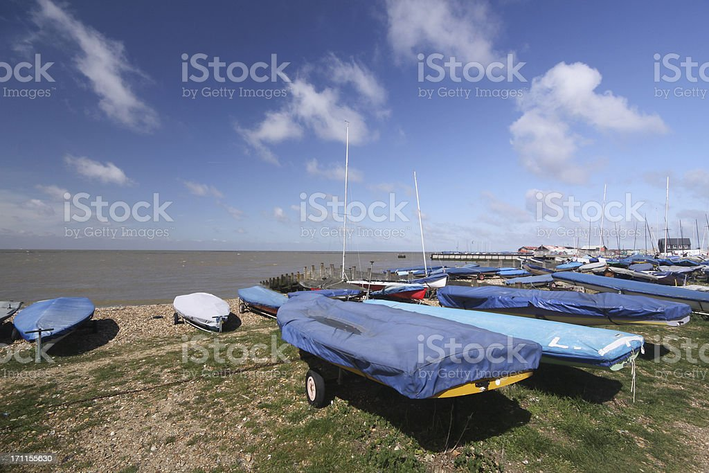 Whitstable in Kent, England stock photo