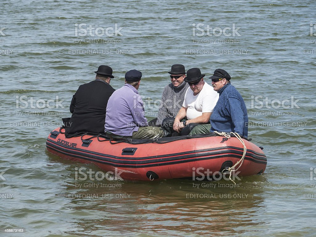 Whitstable Oyster Festival royalty-free stock photo