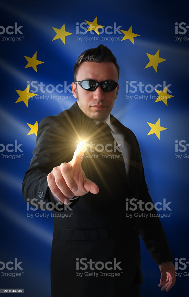 Who is Europe's New Star? stock photo