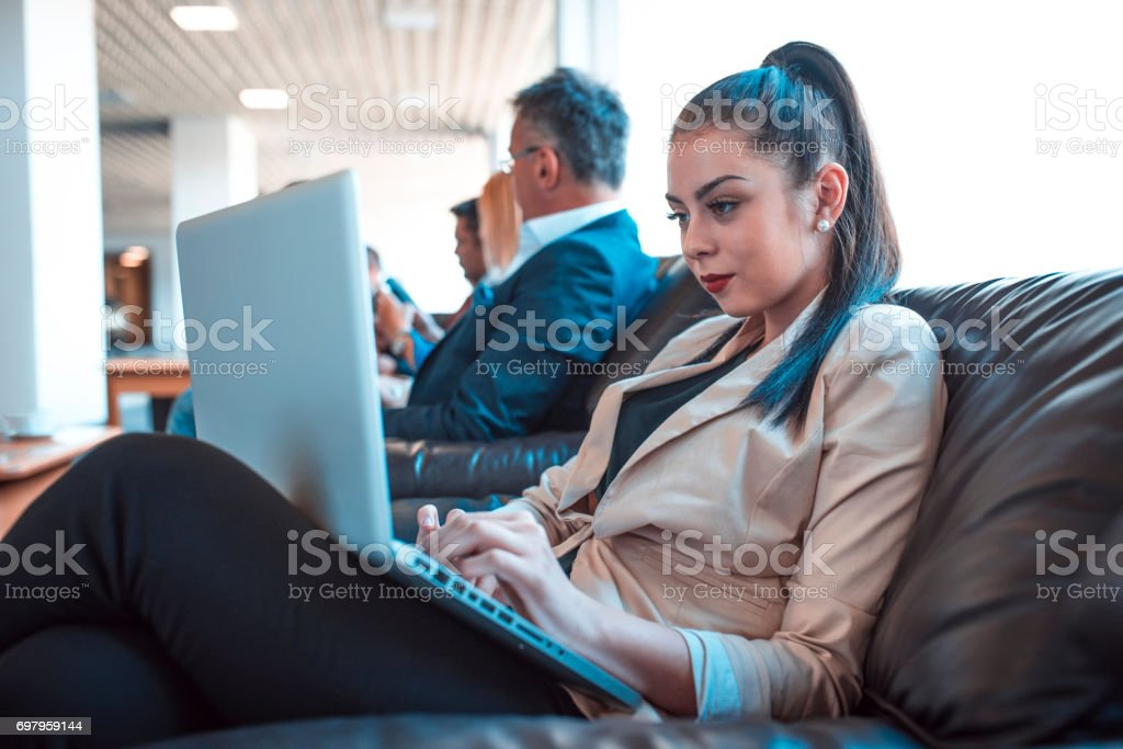 Who is gonna get the job? stock photo