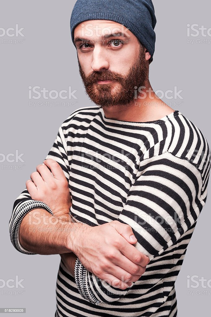 Who is the man? stock photo