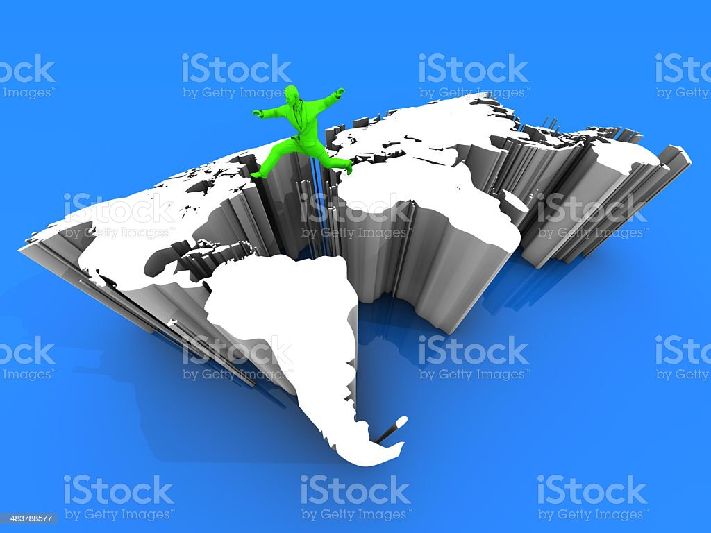 Who Migrated to America stock photo