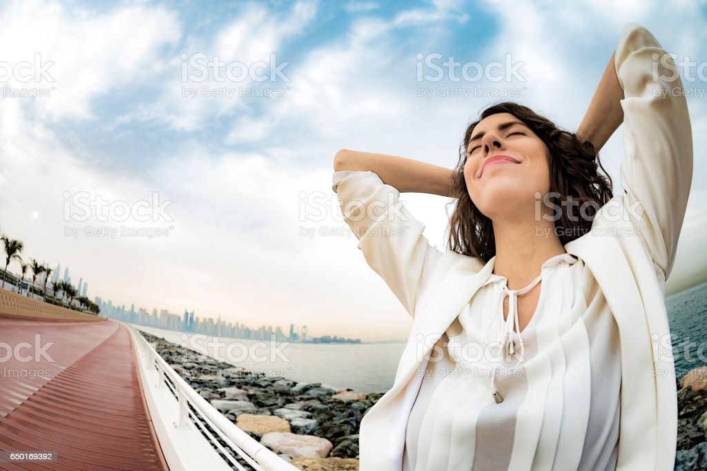Who says day dreaming does not lead to success. stock photo