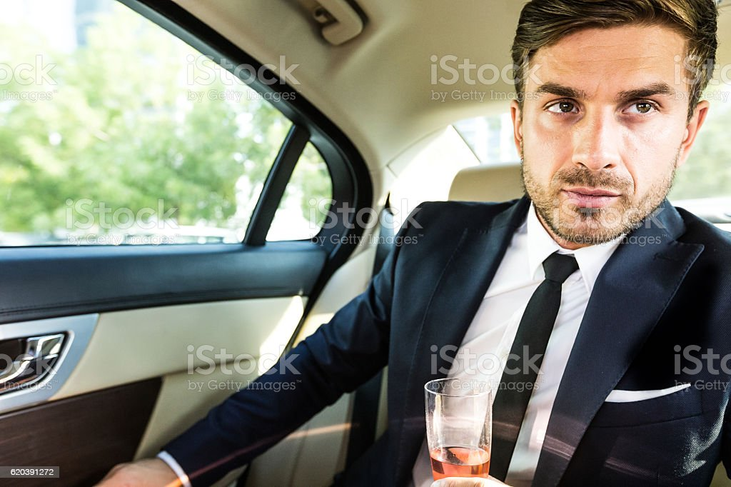 Who says I need a reason to drink? stock photo