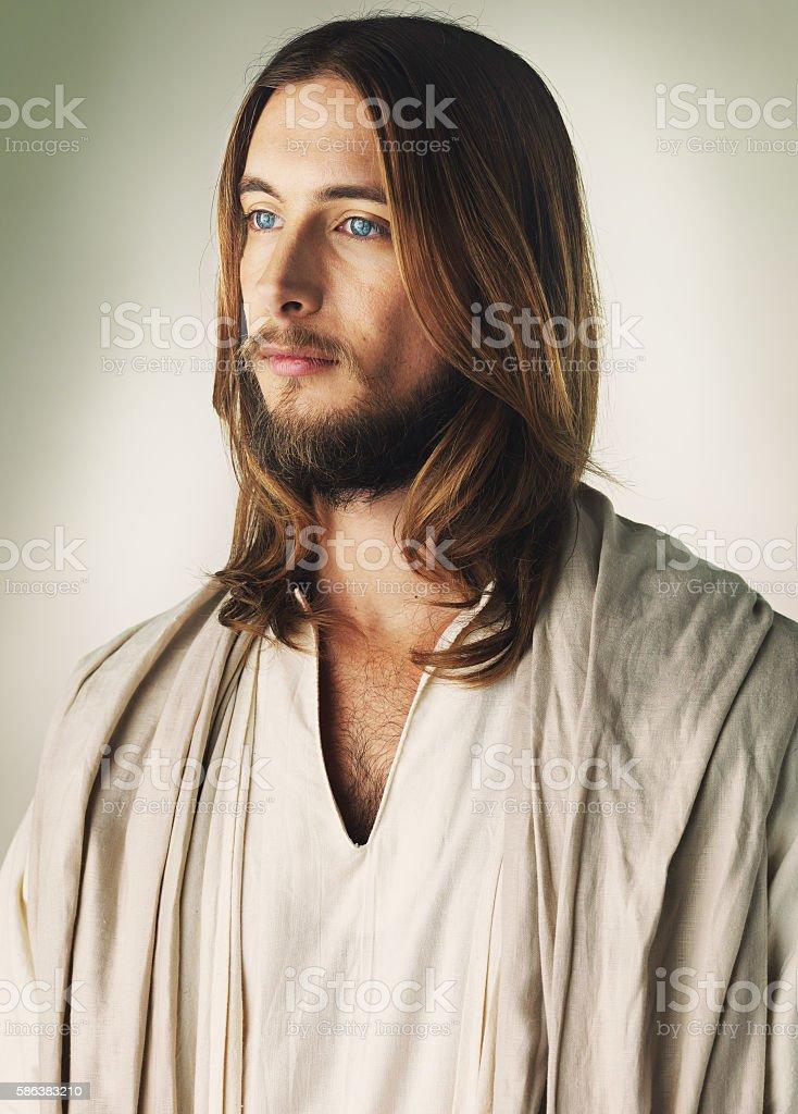 Who was Jesus Christ? stock photo