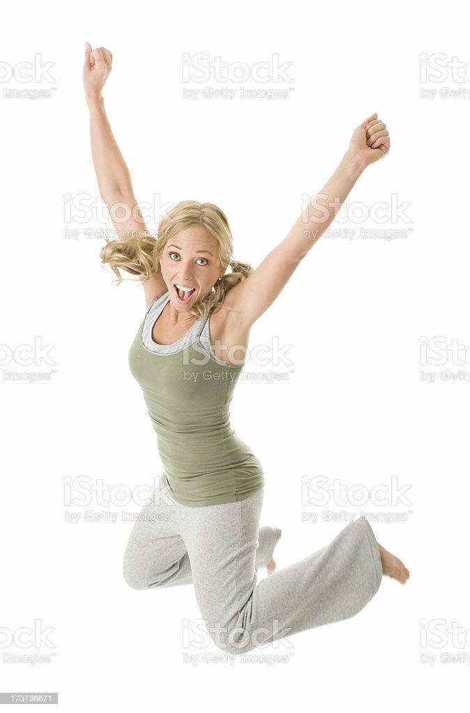 Whoa Jump! royalty-free stock photo