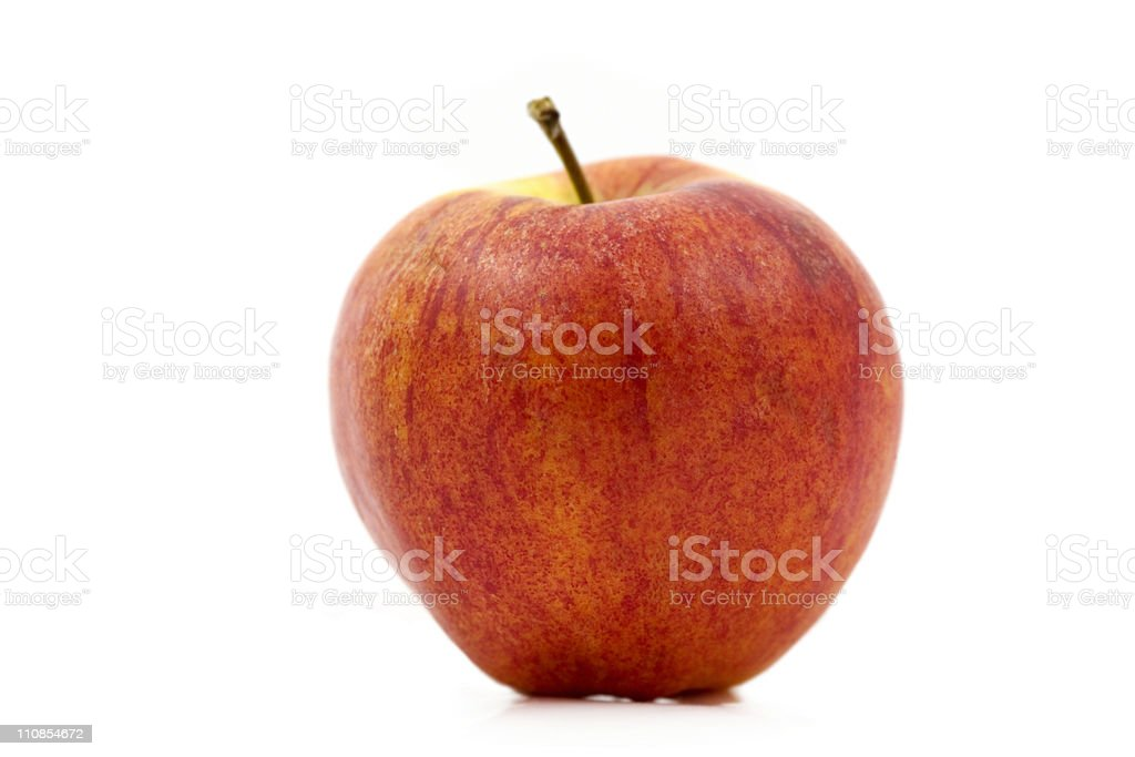 Whole Apple stock photo