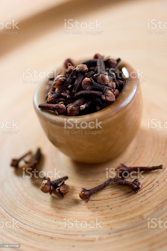 Whole Cloves royalty-free stock photo
