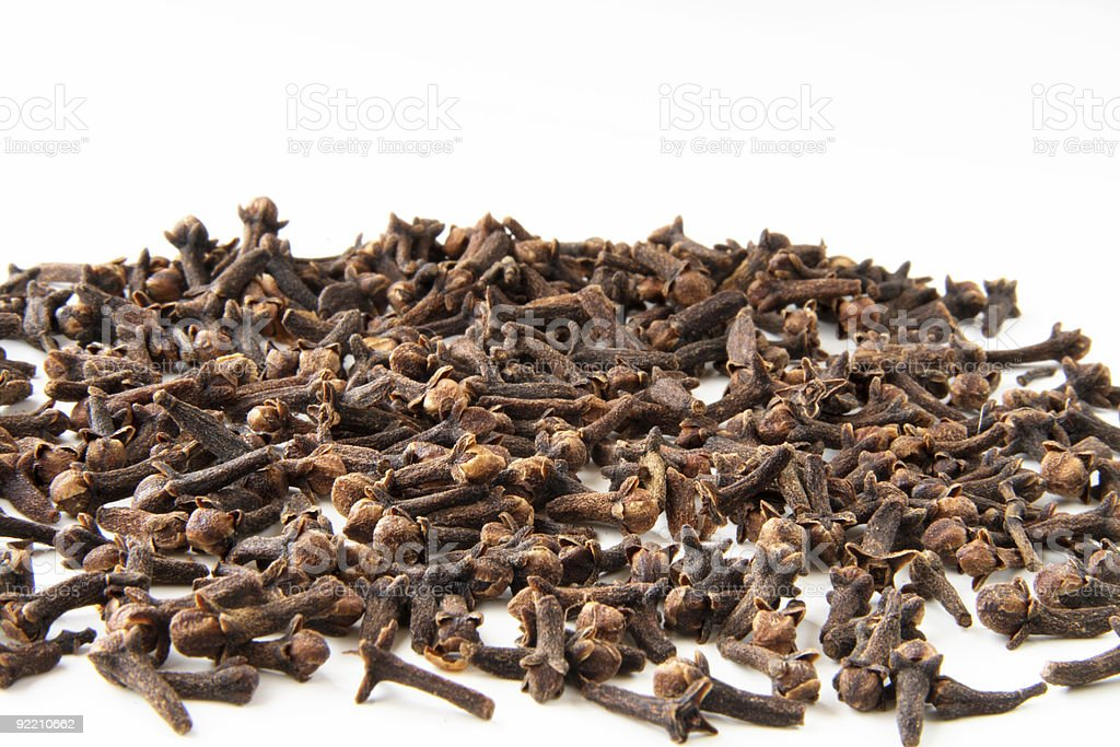 whole cloves spices royalty-free stock photo