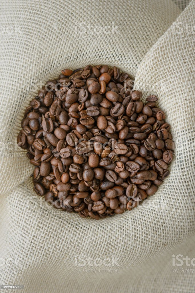 Whole Coffee Beans stock photo