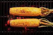Whole Corn on grill
