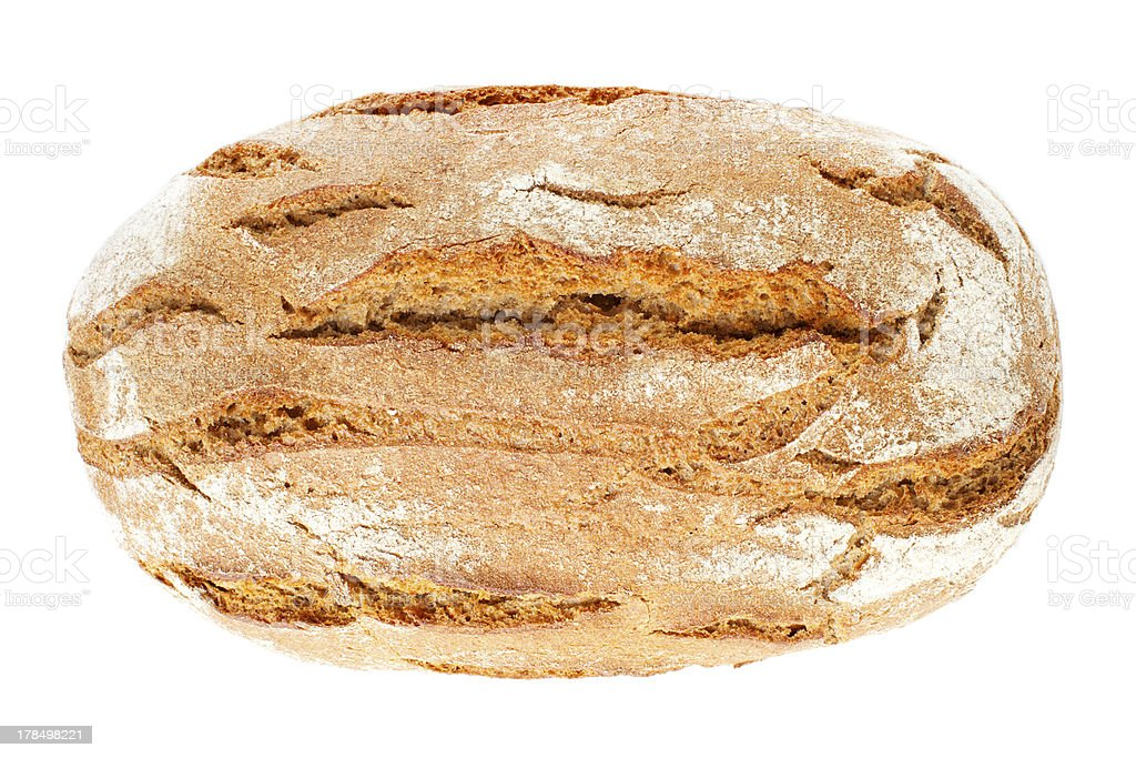 Whole country bread royalty-free stock photo