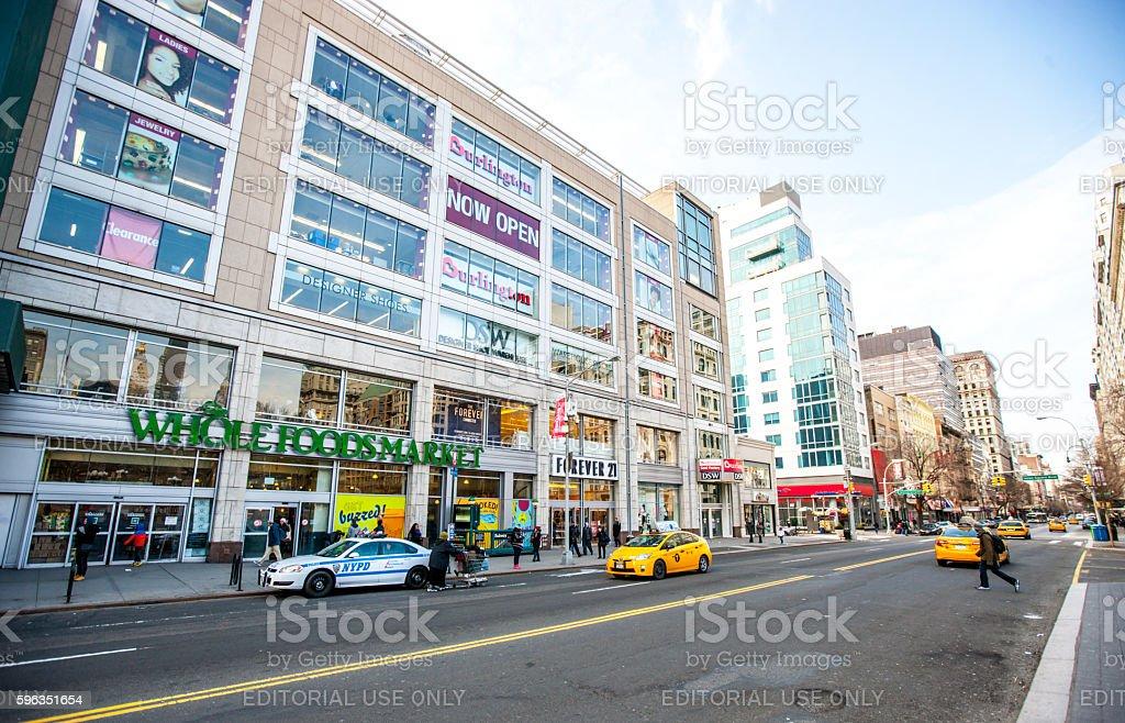 Whole Foods Market, New York, USA stock photo