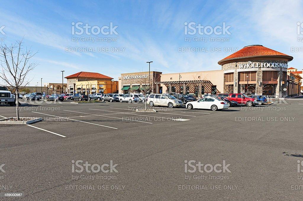 Whole Foods Market royalty-free stock photo