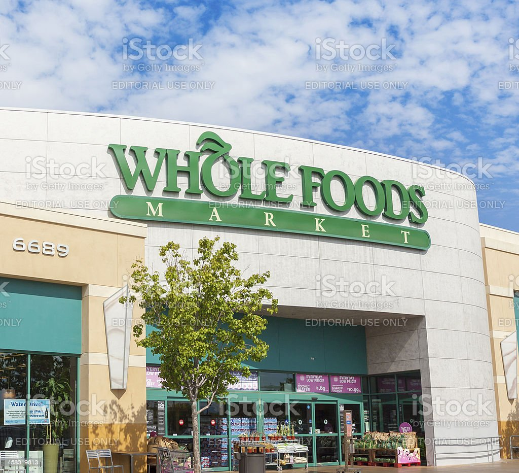 Whole Foods royalty-free stock photo
