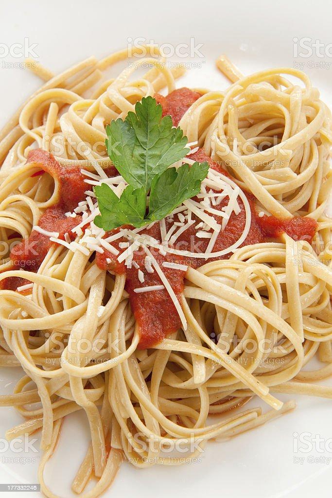 Whole Grain Pasta royalty-free stock photo