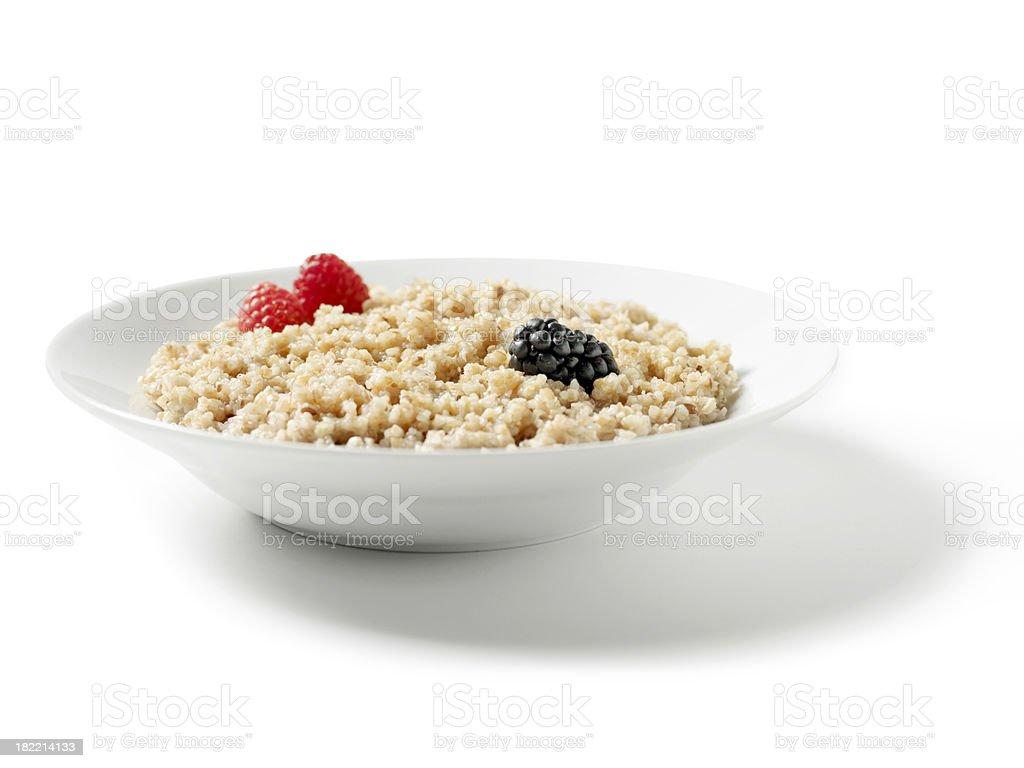 Whole Grain Porridge stock photo