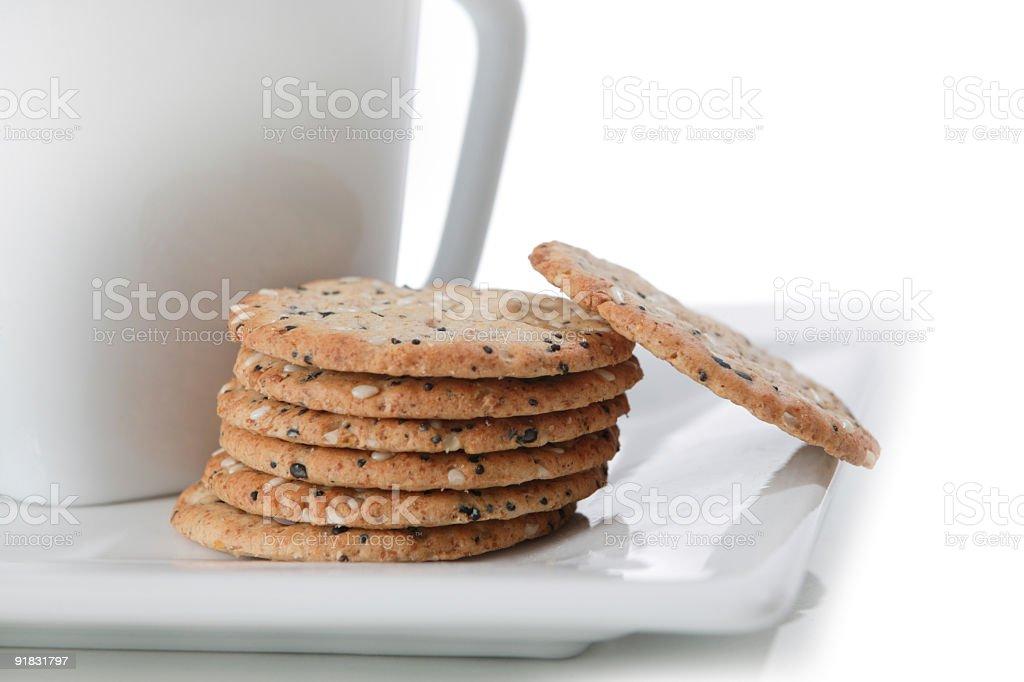 whole grain snack stock photo
