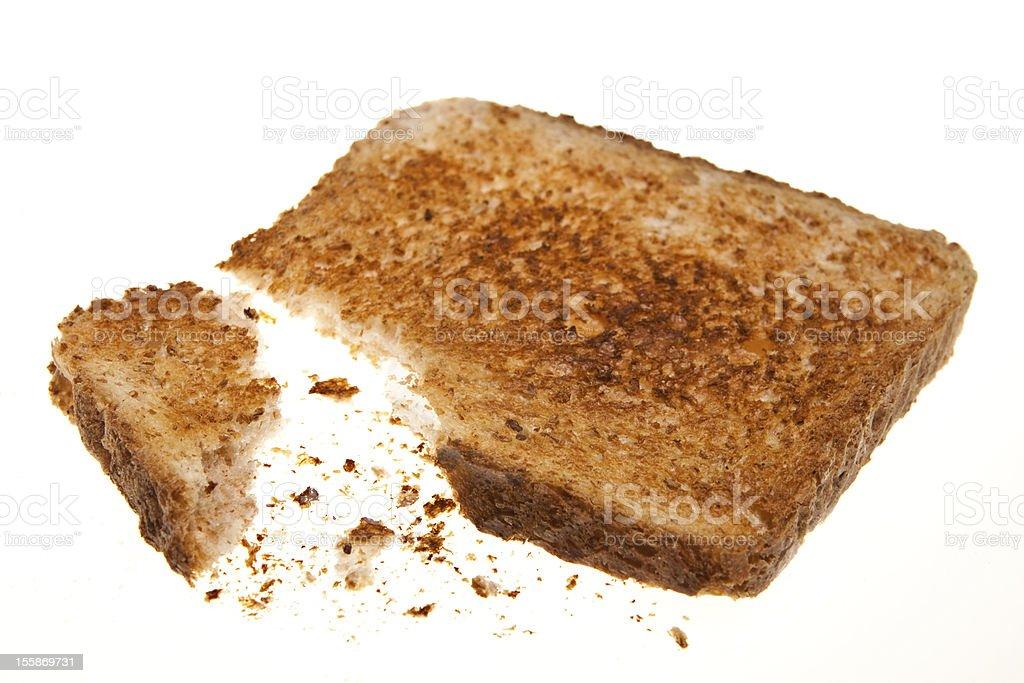 whole grain toast royalty-free stock photo