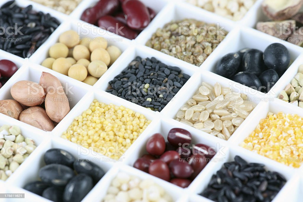 Whole grains royalty-free stock photo