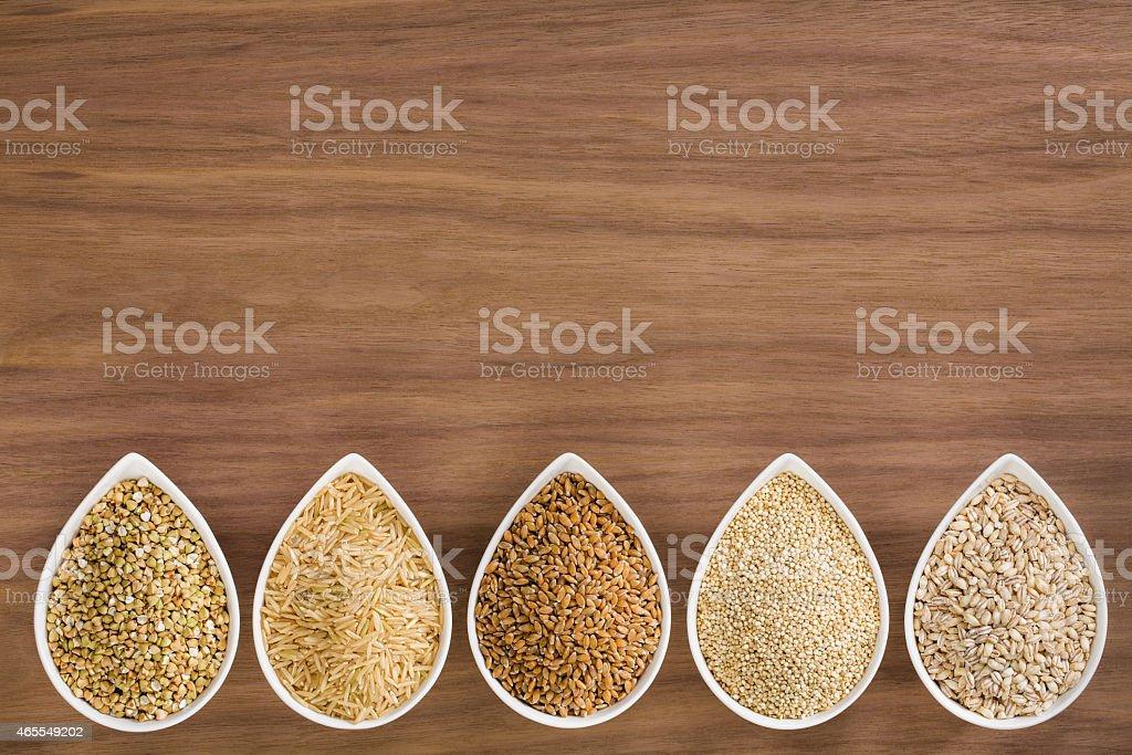 Whole Grains stock photo