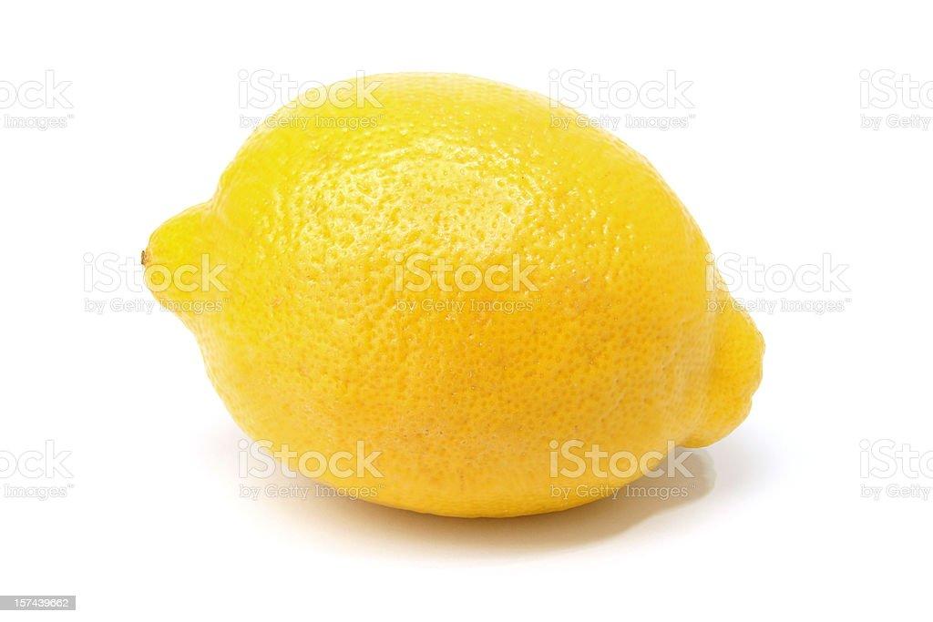 whole lemon royalty-free stock photo