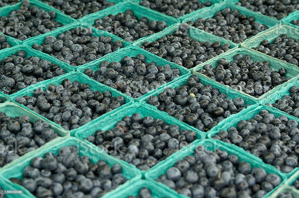 Whole lot of blueberries royalty-free stock photo