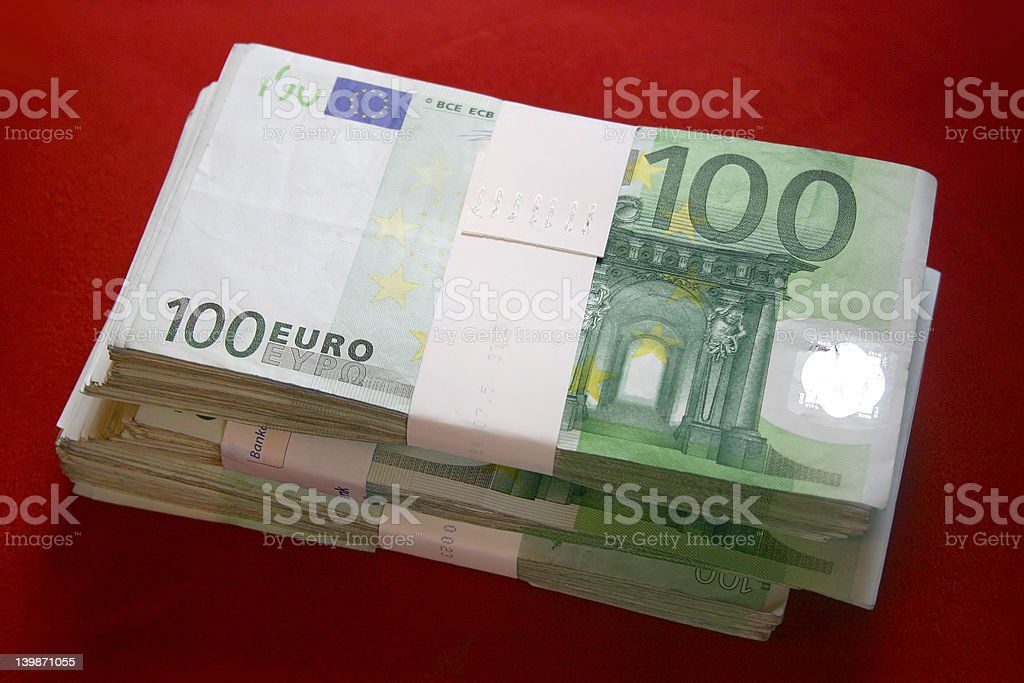 Whole Lotta Money royalty-free stock photo