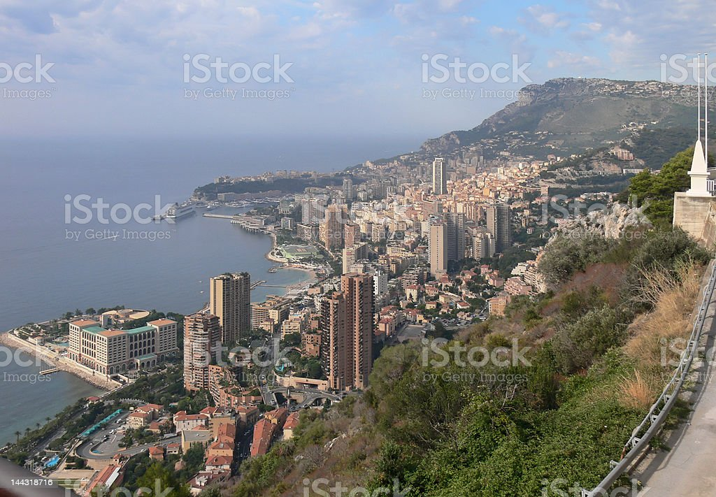 Whole Monaco stock photo