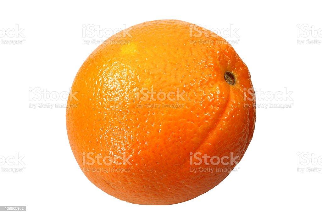whole orange royalty-free stock photo