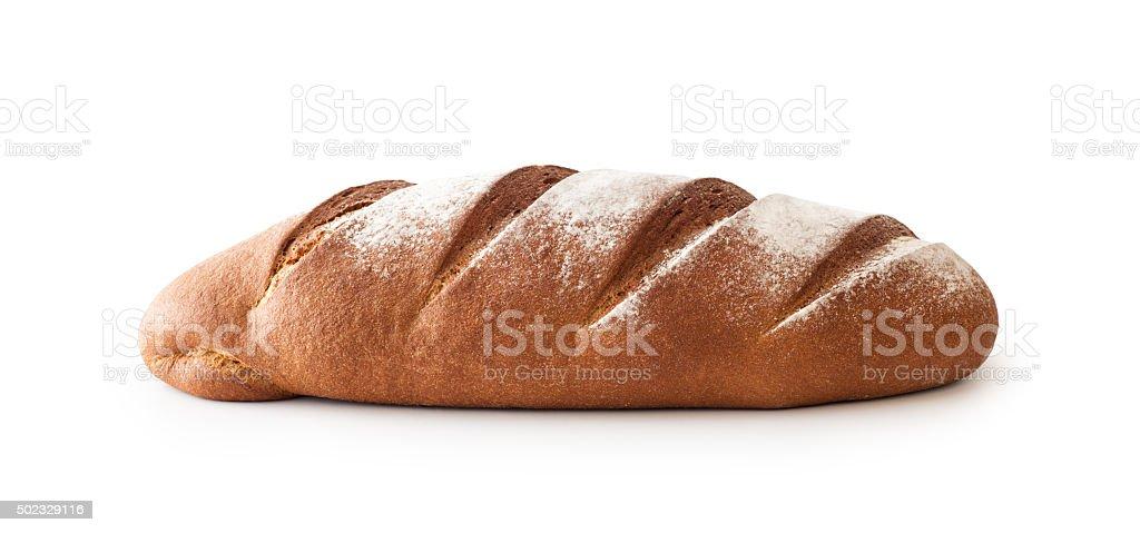Whole Rye Bread , isolated stock photo