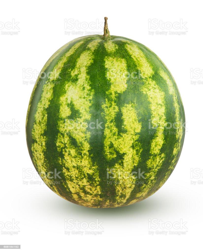 Whole watermelon stock photo