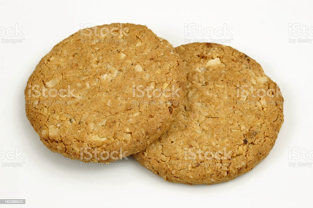 Whole weat biscuits stock photo