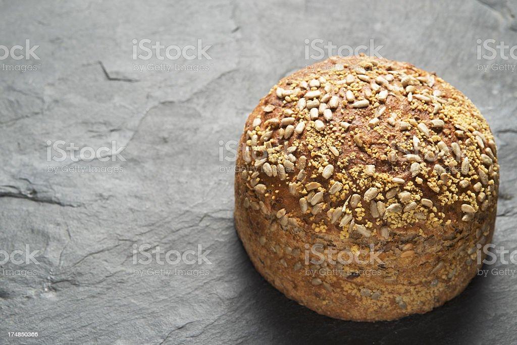 Whole Wheat Bread, Dinkelbrot, Vollkornbrot, royalty-free stock photo