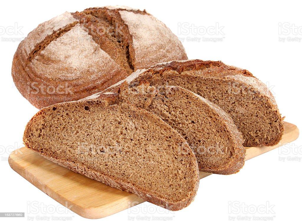 whole wheat bread royalty-free stock photo
