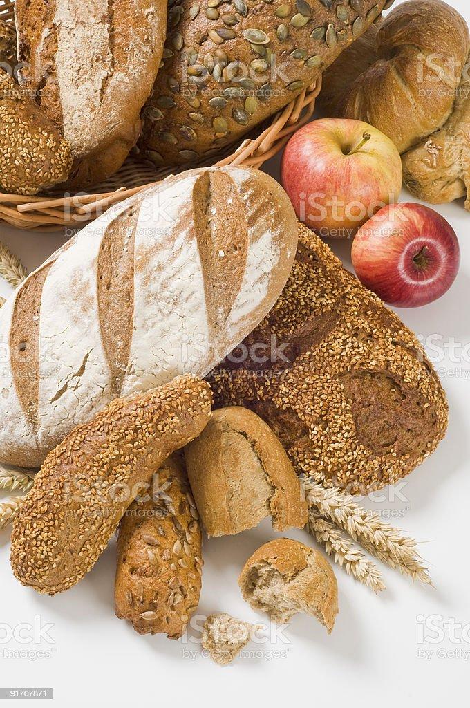 Хлеб из цельнозерновой пшеницы) Стоковые фото Стоковая фотография