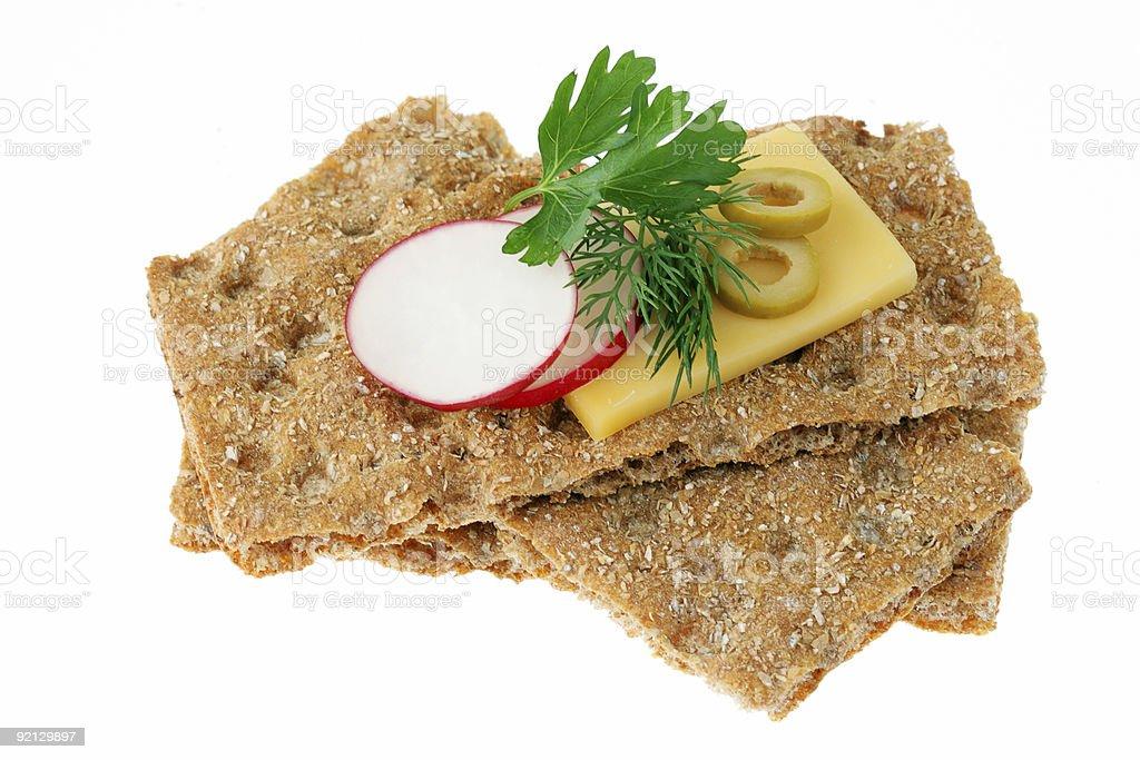 Wholegrain bread royalty-free stock photo