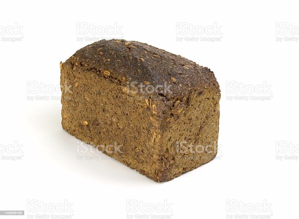 Whole-grain dark bread royalty-free stock photo