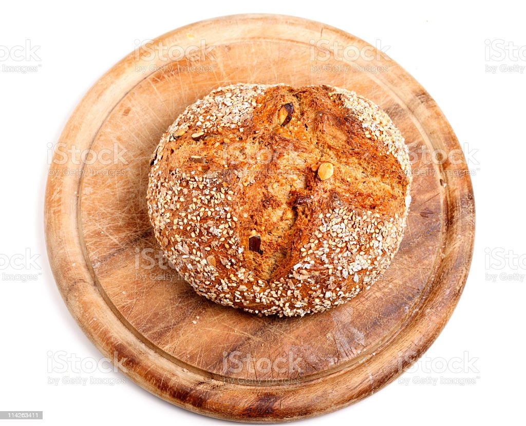 Wholemeal Bread (XXL) royalty-free stock photo