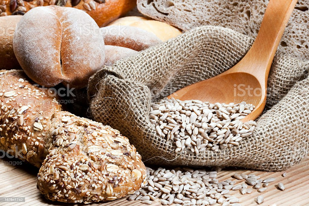 Wholemeal bread royalty-free stock photo