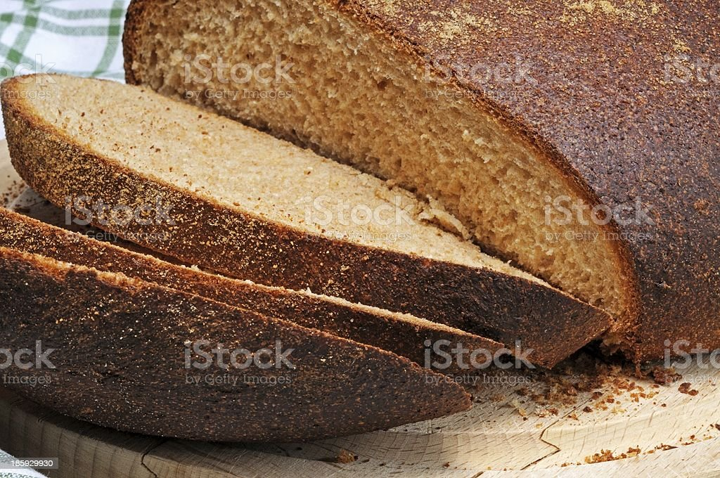 Wholemeal bread. royalty-free stock photo