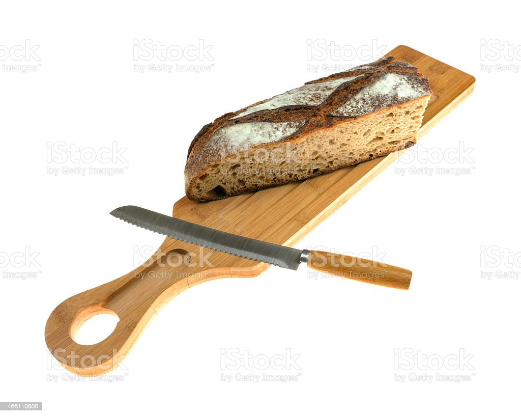 Wholemeal Bread stock photo