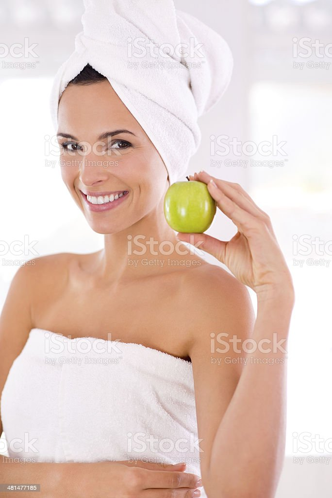 Wholesome and fresh royalty-free stock photo