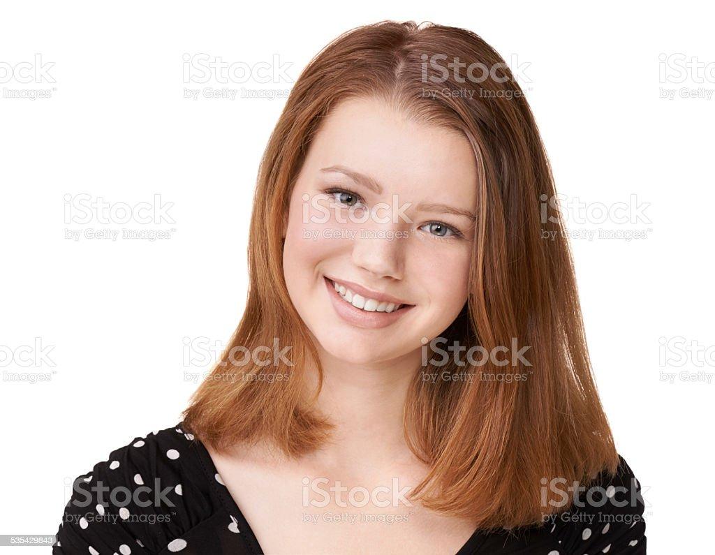 Wholesome beauty stock photo
