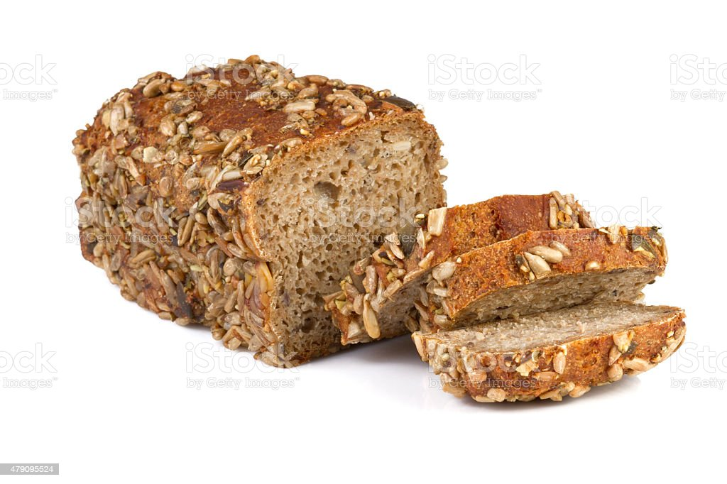 Wholewheat Bread stock photo